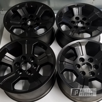 Powder Coated 20 Inch Aluminum Wheels
