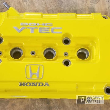 Powder Coated Honda Valve Cover
