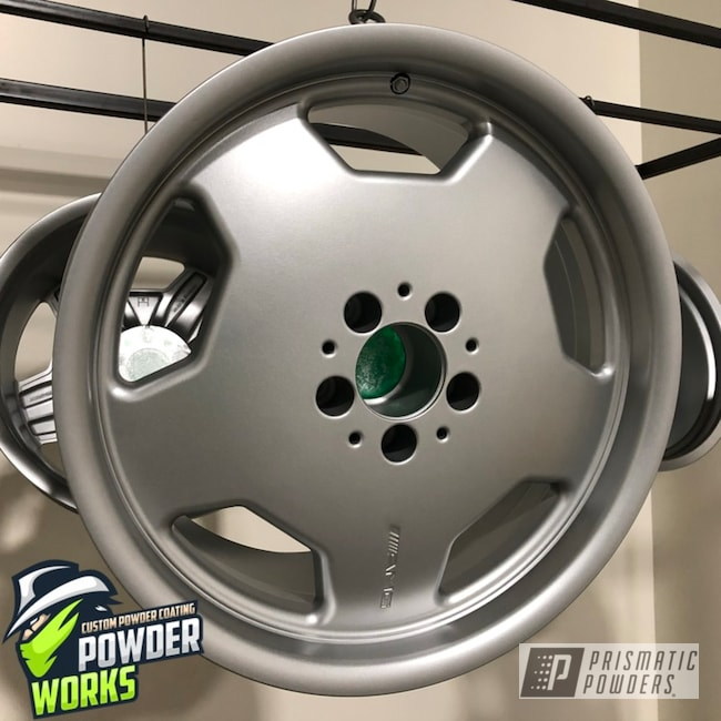Powder Coating: Wheels,BMW Silver PMB-6525,Automotive