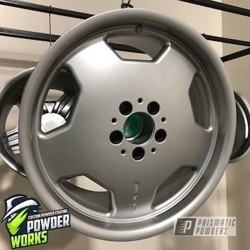 Powder Coated Set Of Rims