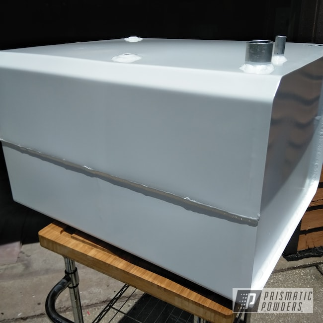 Powder Coating: Airboat,Boat Parts,Boat,Polar White PSS-5053,Gas Tank