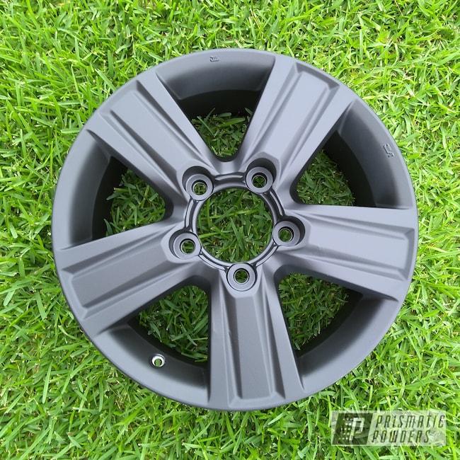 "Powder Coating: Wheels,Automotive,4x4,Land Cruiser,20"" Wheels,Toyota,20"",20"" Aluminum Wheels,Casper Clear PPS-4005,Silk Satin Black HSS-1336,4runner"