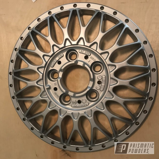 Powder Coating: Wheels,BMW Silver PMB-6525,Automotive,BMW Wheels,BMW,BBS