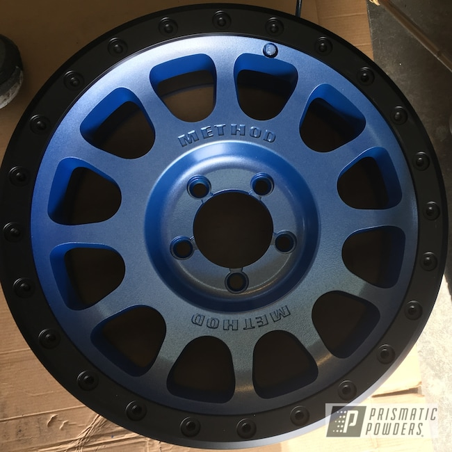 "Powder Coating: Wheels,Automotive,Clear Vision PPS-2974,Method,Illusion Blueberry PMB-6908,20"",20"" Aluminum Wheels,Aluminum Wheels"