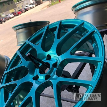 Powder Coated Honda Civic Wheels