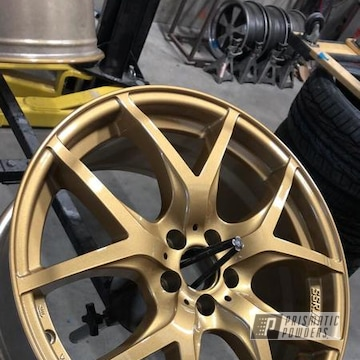 Powder Coated 18 Inch Brz Subaru Wheels