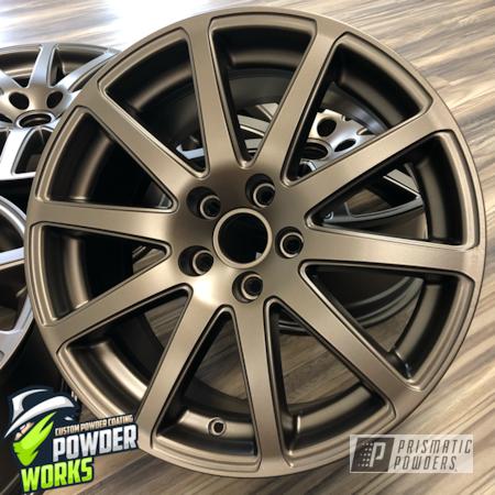 Powder Coating: Wheels,Automotive,Custom Wheels,METALLIC BRONZE UMB-0336