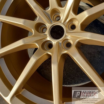 Powder Coated 20 Inch Ford Mustang Wheels