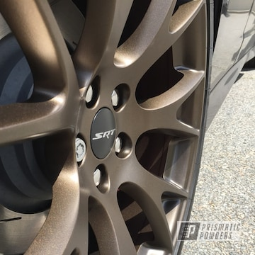 Powder Coated Dodge Hellcat Charger Wheels
