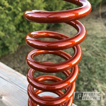 Powder Coated Coil Suspension Spring