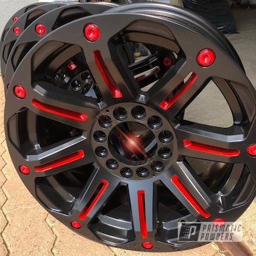 Powder Coated 2 Tone Wheels