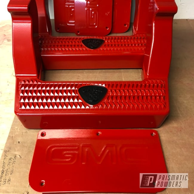 Powder Coating: Automotive,Really Red PSS-4416,Custom Automotive Accents