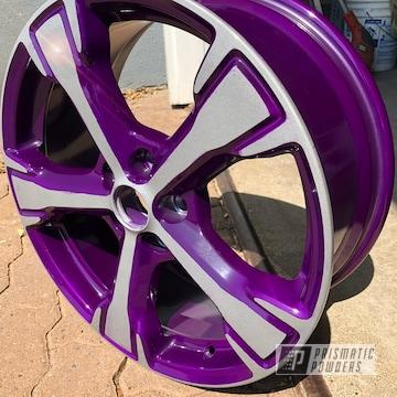 Powder Coated Two Tone 16 Inch Wheels