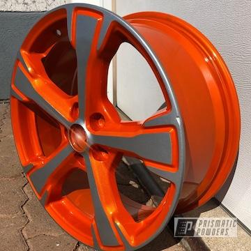 Powder Coated Two Toned Wheel