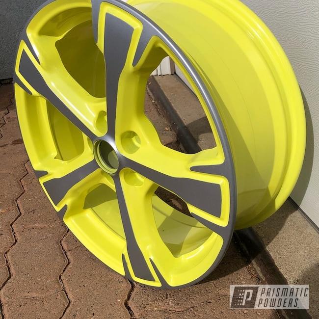 Powder Coated 16 Inch Wheel