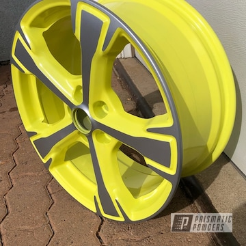 Powder Coated 16 Inch Wheel