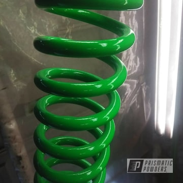 Powder Coated Truck Suspension Springs