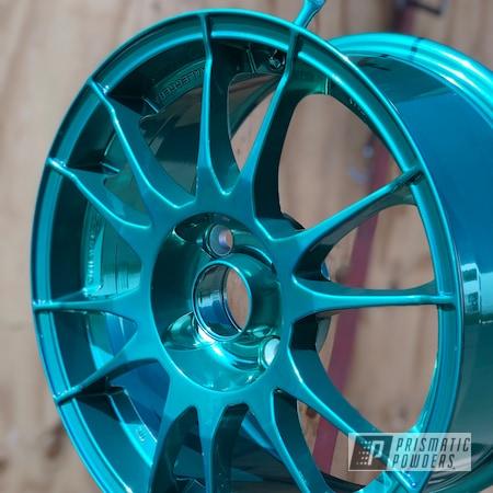 "Powder Coating: Wheels,Automotive,Mini Cooper,OZ Rims,17"" Wheels,OZ,Mini Cooper Wheels,AQUA CLEAR UPS-1680,minijcw,SUPER CHROME USS-4482,minicooper,pulverhalleimruhrpott,Ultraleggera"