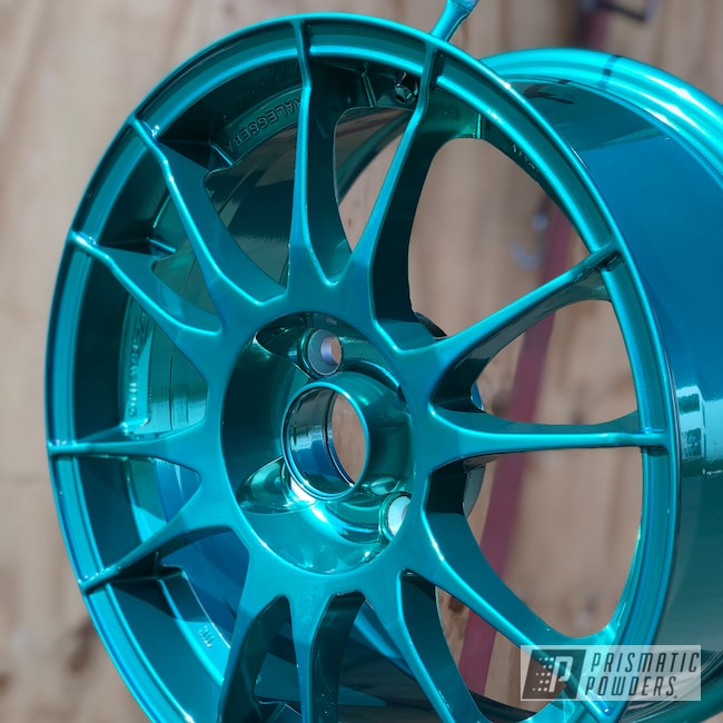 "Powder Coating: Wheels,Automotive,Mini Cooper,OZ Rims,17"" Wheels,OZ,Mini Cooper Wheels,AQUA CLEAR UPS-1680,minijcw,SUPER CHROME USS-4482,minicooper,pulverhalleimruhrpott,Ultraleggera"