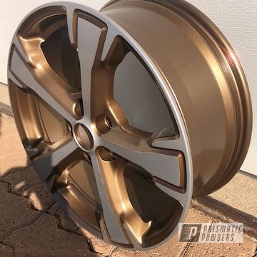 Powder Coated Two Tone 16 Inch Wheel