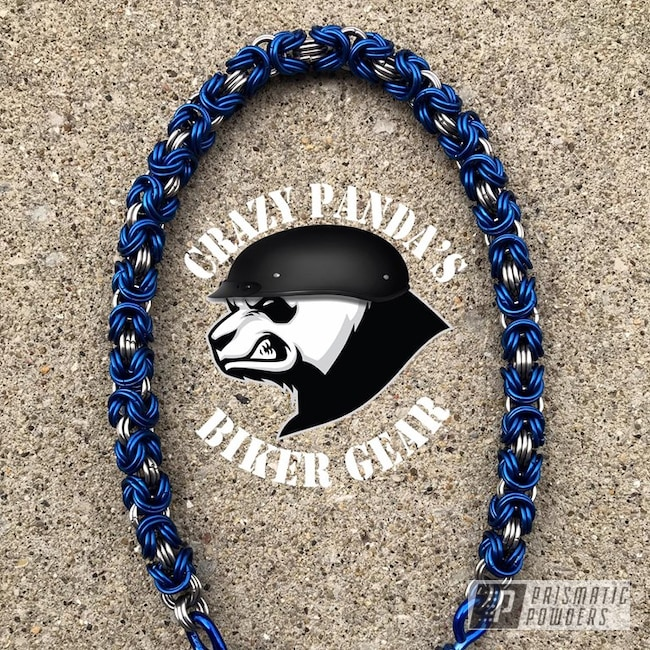 Powder Coating: Cheater Blue PPB-6815,Transparent Powder Coating,Motorcycle Lanyard,Miscellaneous,Get Back Whip