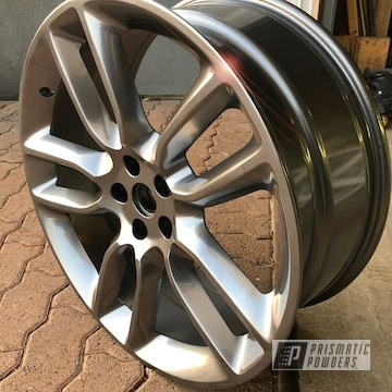 Powder Coated 20 Inch Lexus Wheels