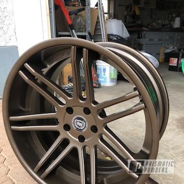 Powder Coated Set Of 20 Inch Dpe Wheels