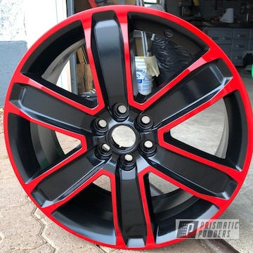 Powder Coated 20 Inch Chevy Truck Wheels