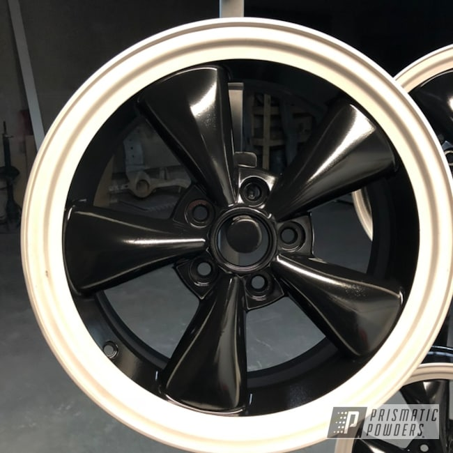 """Powder Coating: Wheels,Matte Black PSS-4455,Automotive,15"""" Wheels,Ford Mustang,Ford,Mustang"""