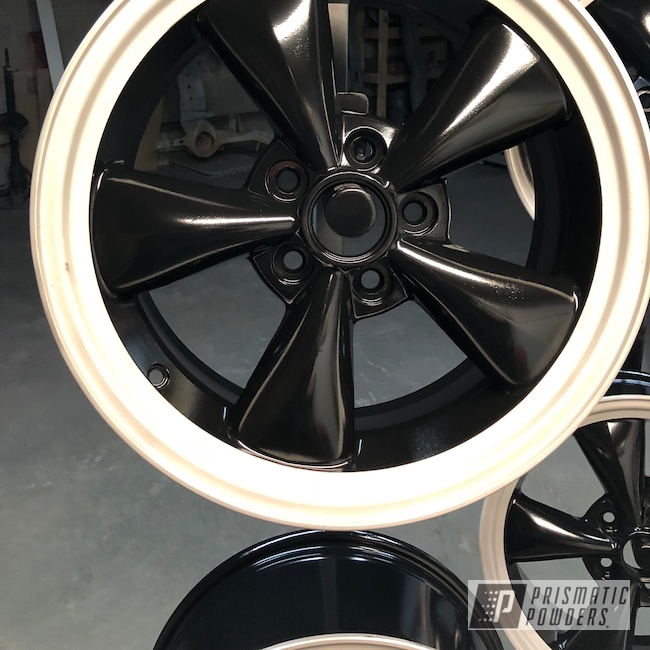 "Powder Coating: Wheels,Matte Black PSS-4455,Automotive,15"" Wheels,Ford Mustang,Ford,Mustang"