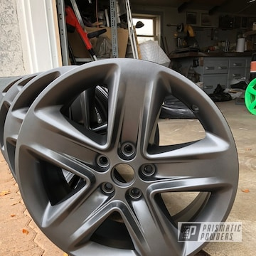 Powder Coated Set Of 18 Inch Wheels