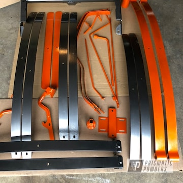 Powder Coated Suburban Chassis Parts