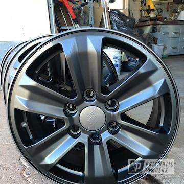 Powder Coated 18 Inch Custom Wheels