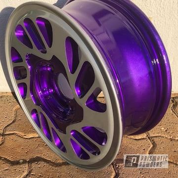 Powder Coated 15 Inch Two Tone Wheel