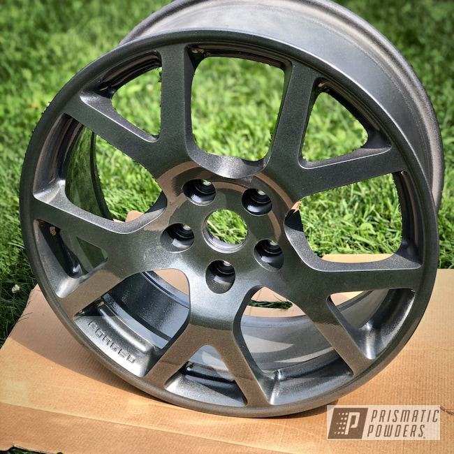 "Powder Coating: Boltz Grey PMB-5308,Wheels,Automotive,Clear Vision PPS-2974,Nissan,18"",18"" Wheel"