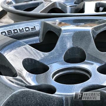 Powder Coated 18 Inch Nissan Wheels