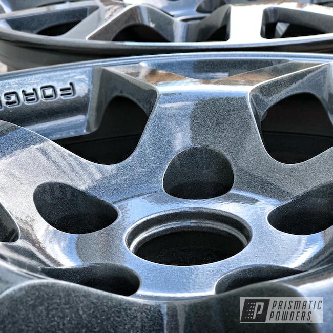 "Powder Coating: Boltz Grey PMB-5308,Wheels,Automotive,Clear Vision PPS-2974,Nissan,18"",18"" Wheel"