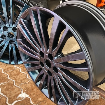 Powder Coated 20 Inch Land Rover Wheel