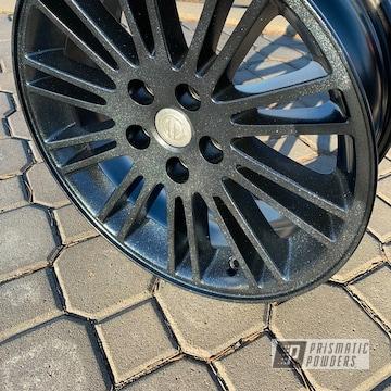Powder Coated 18 Inch Chrysler Wheels