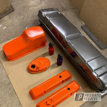 Powder Coated Restoration Parts For A Chevy Suburban