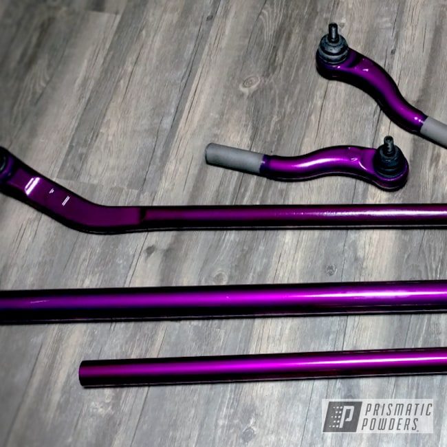 Powder Coating: Clear Vision PPS-2974,Off-Road,Teraflex HD Steering Parts,Illusion Violet PSS-4514