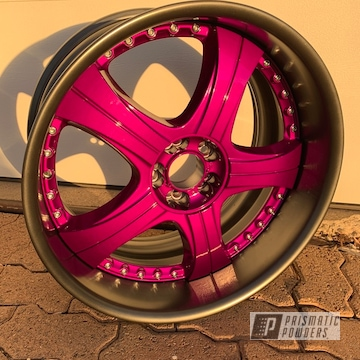 Powder Coated 20 Inch 3 Piece Wheel