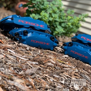 Powder Coated Brembo Porsche Calipers
