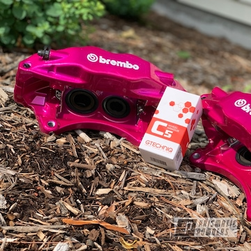 Powder Coated Subaru Sti Brembo Brake Calipers