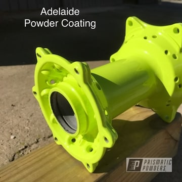 Powder Coated Motorcycle Wheel Hubs