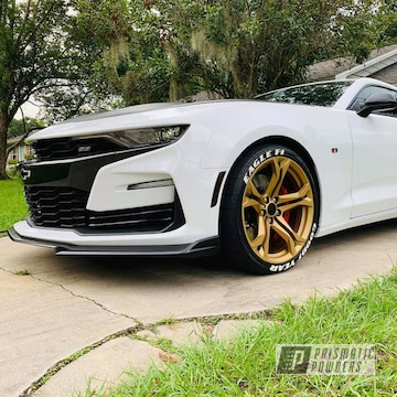 Powder Coated 20 Inch Chevy Camaro Wheels