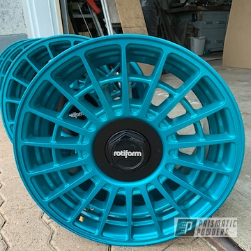 Powder Coated 18 Inch Rotiform Wheels
