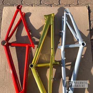 Powder Coated Custom Bmx Frames