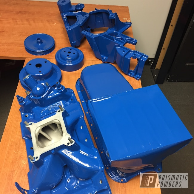 Powder Coating: Automotive,Engine Parts,RAL 5005 RAL-5005