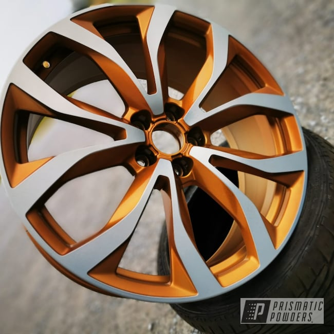 "Powder Coating: Wheels,Automotive,Super Chrome,20"",Matte Finish,SUPER CHROME USS-4482,Gonze PPS-6987,Audi,RS,20"" Aluminum Wheels,Audi RS06,Two Tone,Casper Clear PPS-4005"